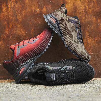 户外登山鞋跑步鞋徒步跨境大码运动鞋男鞋40-50#