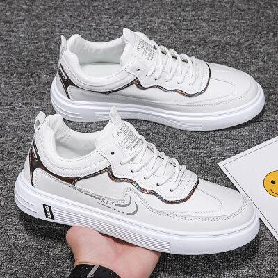【九龙-2102注塑】休闲板鞋运动小白鞋男鞋39-44一口价