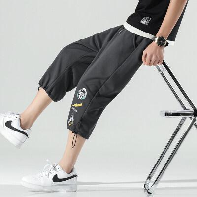 无影墙    K805-P25    95%聚酯纤维5%氨纶   夏季新款休闲七分裤