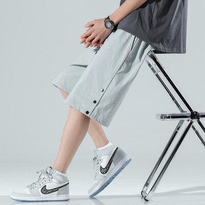 日系-无影墙  K2116-P25   100%聚酯纤维   2021夏季新款休闲裤男