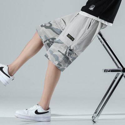 日系-无影墙  K2113-P30   100%聚酯纤维   2021夏季新款休闲裤男