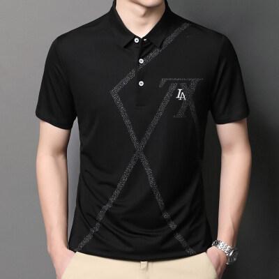 2021夏季新款男士翻领短袖POLO衫T恤商务休闲 Q3121 P65