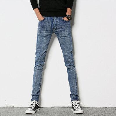 时尚靓仔 牛仔长裤 291  浅蓝