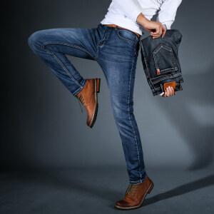 主推 牛仔长裤816 厚面料 2色  (多图 /套图必究)