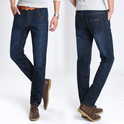商务牛仔裤8018