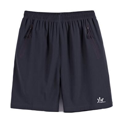 2019短裤男士休闲裤五分裤加肥加大码户外运动夏季宽松沙滩裤
