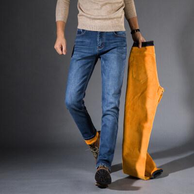 主推款006加绒牛仔裤  2色 (常规款816)牛仔馆控图