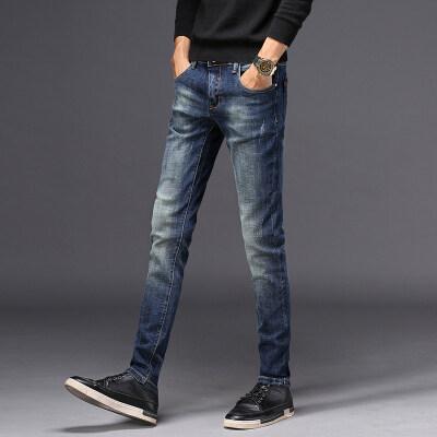 主推时尚轻奢牛仔裤  849蓝色