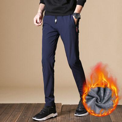 主推款 休闲裤918加绒 黑色 蓝色 灰色(常规款918)