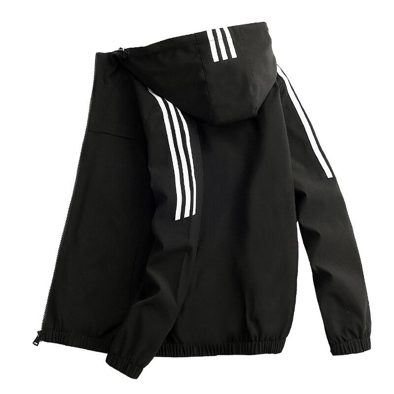 三条杠四面弹男士外套2020新款韩版修身春装棒球服夹克