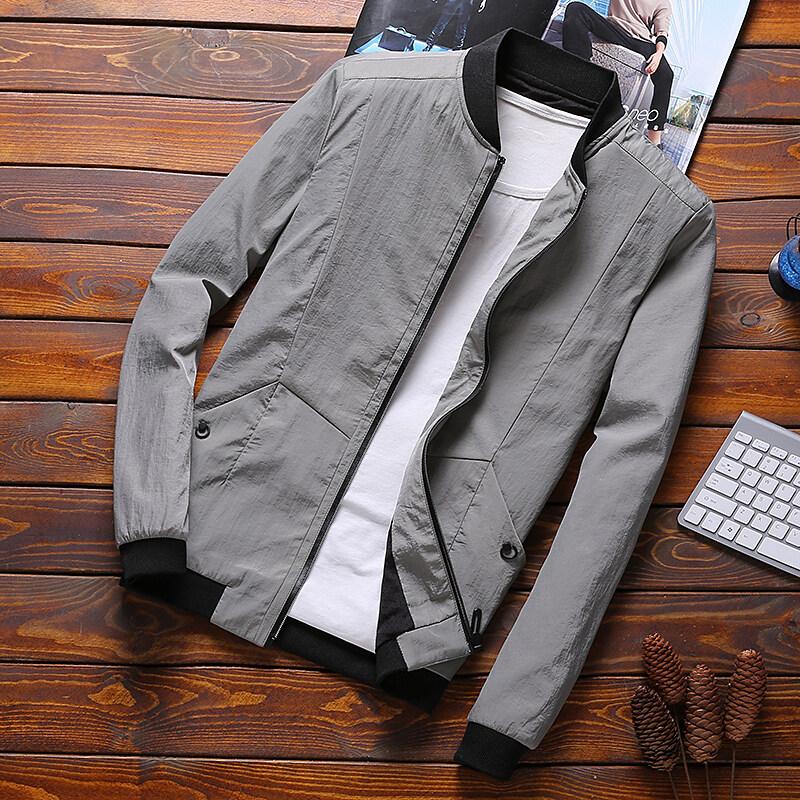 男士外套春秋韩版修身2020春季潮流休闲衣服学生男装帅气夹克