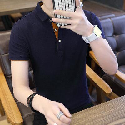 短袖T恤男夏季新款男士短袖polo衫男生商务休闲男装翻领LG1536-1
