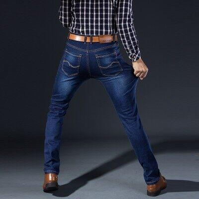 主推爆款 牛仔裤813  蓝色 蓝黑色 (多图)牛仔馆控图