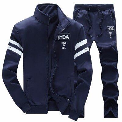 运动套装男春秋休闲运动服女长袖卫衣两件套跑步健身透气情侣外套